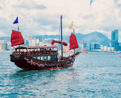 Hong Kong Boat Junk Asia China Unknown Wong on Unsplash